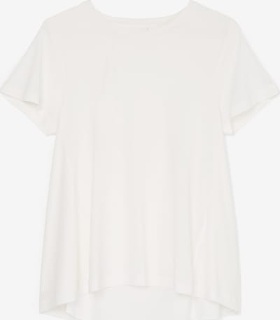 Marc O'Polo Pure Shirt-Bluse ' aus edlem Material-Mix ' in weiß, Produktansicht