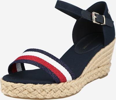 TOMMY HILFIGER Sandále - tmavomodrá / červená / biela, Produkt