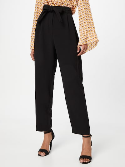PINKO Pleat-front trousers 'RAPHAELA' in Black, View model