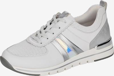 REMONTE Schnürschuh in silber / weiß, Produktansicht