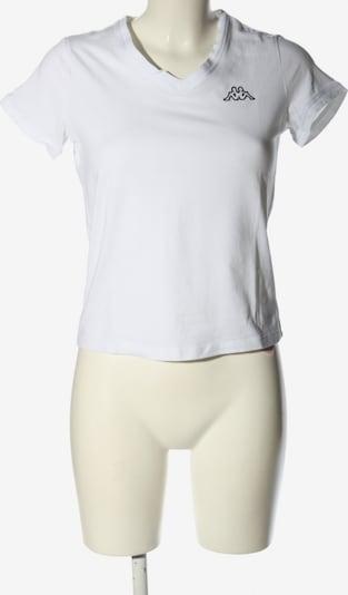 KAPPA T-Shirt in S in schwarz / weiß, Produktansicht