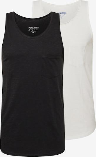 JACK & JONES Tričko - černá / bílá, Produkt