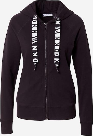 DKNY Performance Bluza rozpinana w kolorze czarny / białym, Podgląd produktu