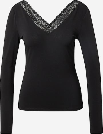 VILA Shirt 'BORNEO' in Zwart