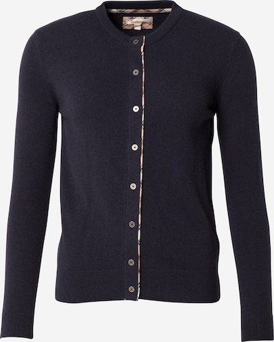 Barbour Knit Cardigan in Beige / Night blue / White, Item view
