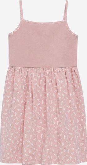 MANGO KIDS Haljina 'CAMPI' u roza / bijela, Pregled proizvoda