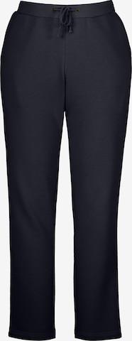 Pantalon '801048' Ulla Popken en bleu