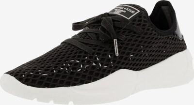 KENDALL + KYLIE Sneaker 'NORAD' in schwarz / weiß: Frontalansicht