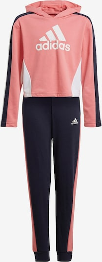 ADIDAS PERFORMANCE Tracksuit in navy / pink / white, Item view