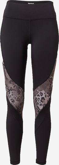 REEBOK Pantalon de sport 'WOR Modern Safari T' en noir, Vue avec produit