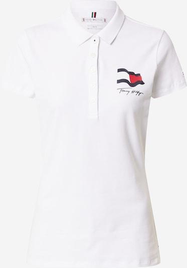 TOMMY HILFIGER Majica 'ABO' u mornarsko plava / crvena / bijela, Pregled proizvoda