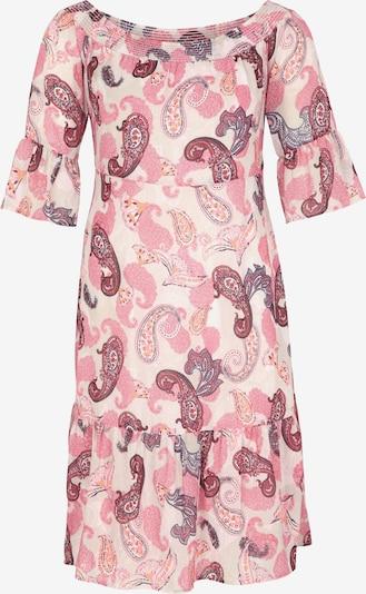 COMMA Fließendes Kleid aus Chiffon in pink, Produktansicht