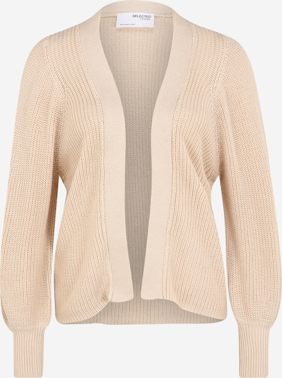 Selected Femme (Petite) Strickjacke 'Emmy' in nude, Produktansicht