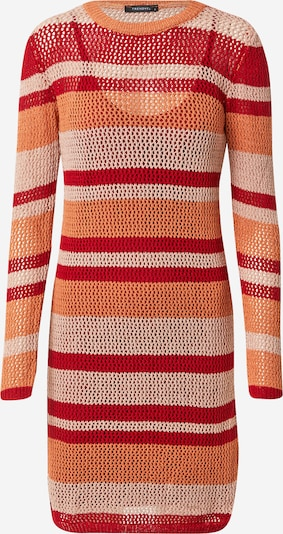 Trendyol Kleid in cognac / cappuccino / rot, Produktansicht
