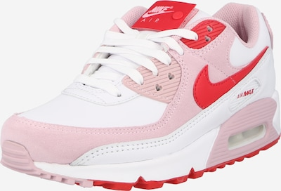 Nike Sportswear Sneakers laag 'Air Max 90' in de kleur Lichtroze / Rood / Wit, Productweergave