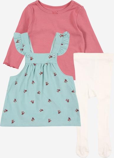 Carter's Set in de kleur Pastelblauw / Rosé / Wit, Productweergave