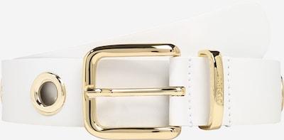 GUESS Gürtel 'WASHINGTON' in gold / weiß, Produktansicht
