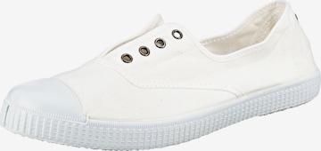 VICTORIA Slip-Ons in White