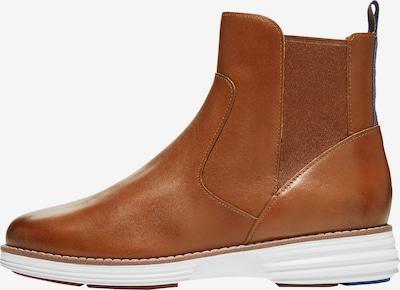 Cole Haan Chelsea Boots in blau / cognac, Produktansicht