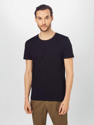 TOM TAILOR DENIM Majica   črna barva: Frontalni pogled