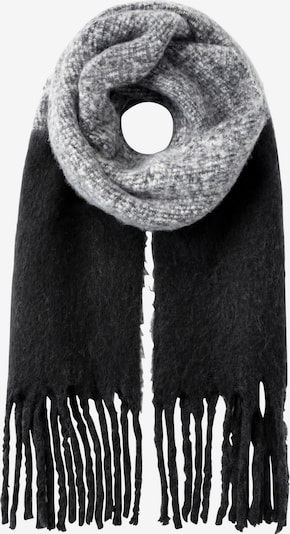 HALLHUBER Schal in grau / schwarz, Produktansicht