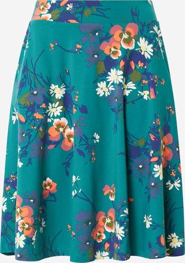 King Louie Rok 'Serena  Pomona' in de kleur Blauw / Duifblauw / Petrol / Grasgroen / Rosé / Wit, Productweergave