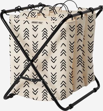ABOUT YOU Wäschekorb 'Homie (3bags)' in beige, Produktansicht