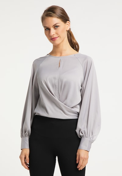 usha BLACK LABEL Bluse in grau, Modelansicht