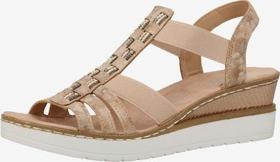 RIEKER Remienkové sandále - púdrová, Produkt