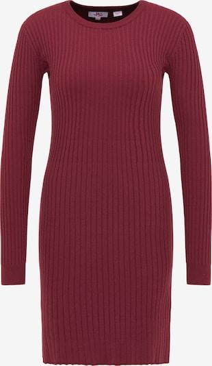 MYMO Robes en maille en rouge carmin, Vue avec produit