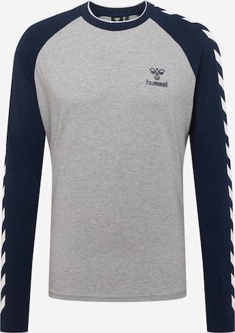 Hummel Sportshirt 'Mark' in Grau