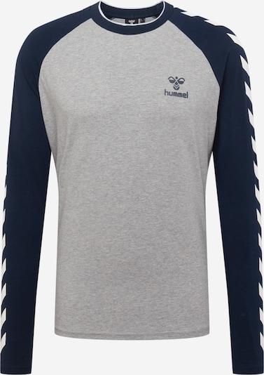 Hummel Sportshirt 'Mark' in navy / grau / weiß, Produktansicht