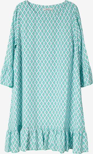 BLOOM Sommerkleid in grün / weiß, Produktansicht