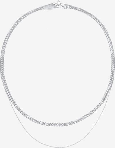 KUZZOI Halskette Basic Kette in silber, Produktansicht