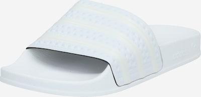 ADIDAS ORIGINALS Чехли 'Adilette' в бяло, Преглед на продукта
