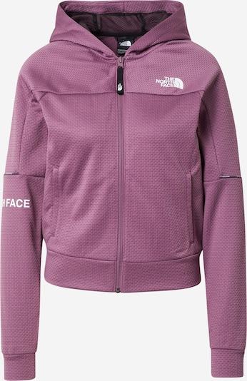 THE NORTH FACE Sportief sweatvest in de kleur Lila / Wit, Productweergave