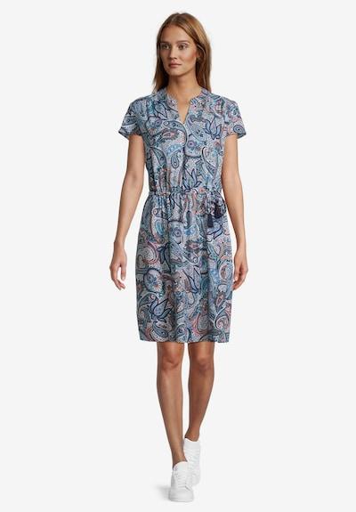 Betty Barclay Freizeitkleid kurzarm in blau / dunkelblau, Modelansicht