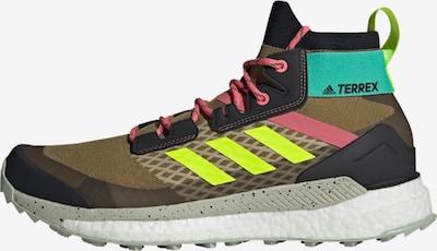adidas Terrex Boots in de kleur Olijfgroen / Gemengde kleuren, Productweergave