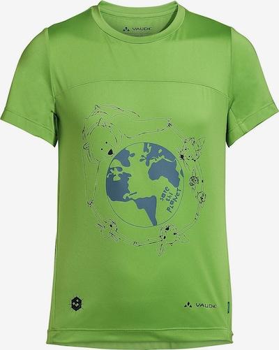 Tricou 'Solaro' VAUDE pe albastru / verde / negru, Vizualizare produs