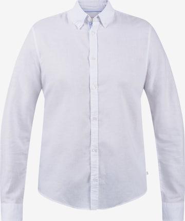Casual Friday Freizeithemd in Weiß