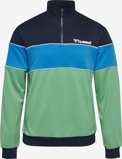 Hummel Half Zip Sweatshirt in mischfarben: Frontalansicht