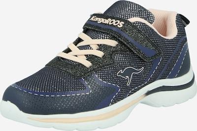KangaROOS Sneaker 'Glozzy' in navy / dunkelblau / rosa, Produktansicht