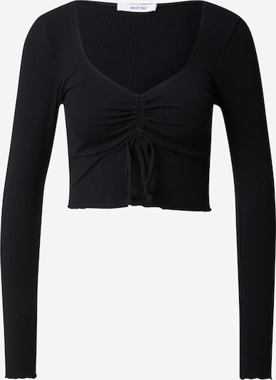ABOUT YOU Majica 'Suzi' u crna, Pregled proizvoda