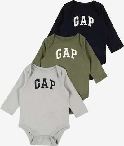 GAP Barboteuse / body en bleu marine / gris / olive / noir / blanc, Vue avec produit