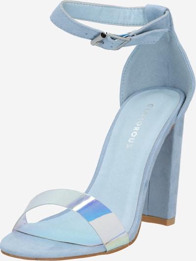 GLAMOROUS Sandale 'FW4993' in hellblau, Produktansicht