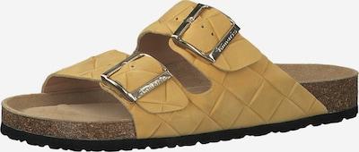 TAMARIS Pantolette in goldgelb, Produktansicht