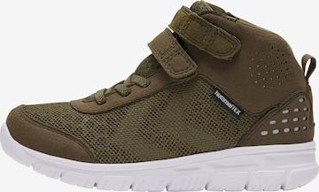 Baskets ' CROSSLITE MID TEX ' Hummel en vert