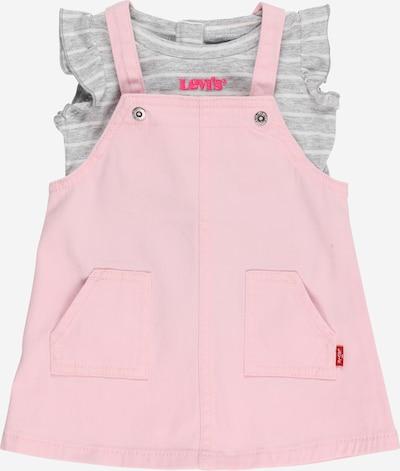 LEVI'S Conjunto en gris moteado / rosa / rosa oscuro / blanco, Vista del producto