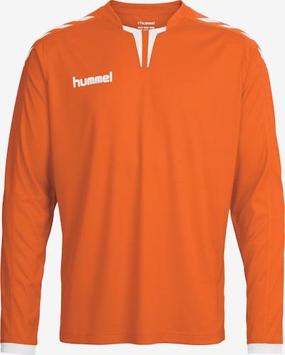 Hummel Shirt in hellorange / weiß, Produktansicht