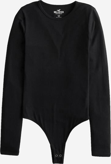 HOLLISTER Shirtbody en noir, Vue avec produit